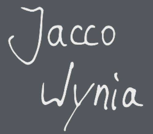Logo Jacco Wynia Official Website