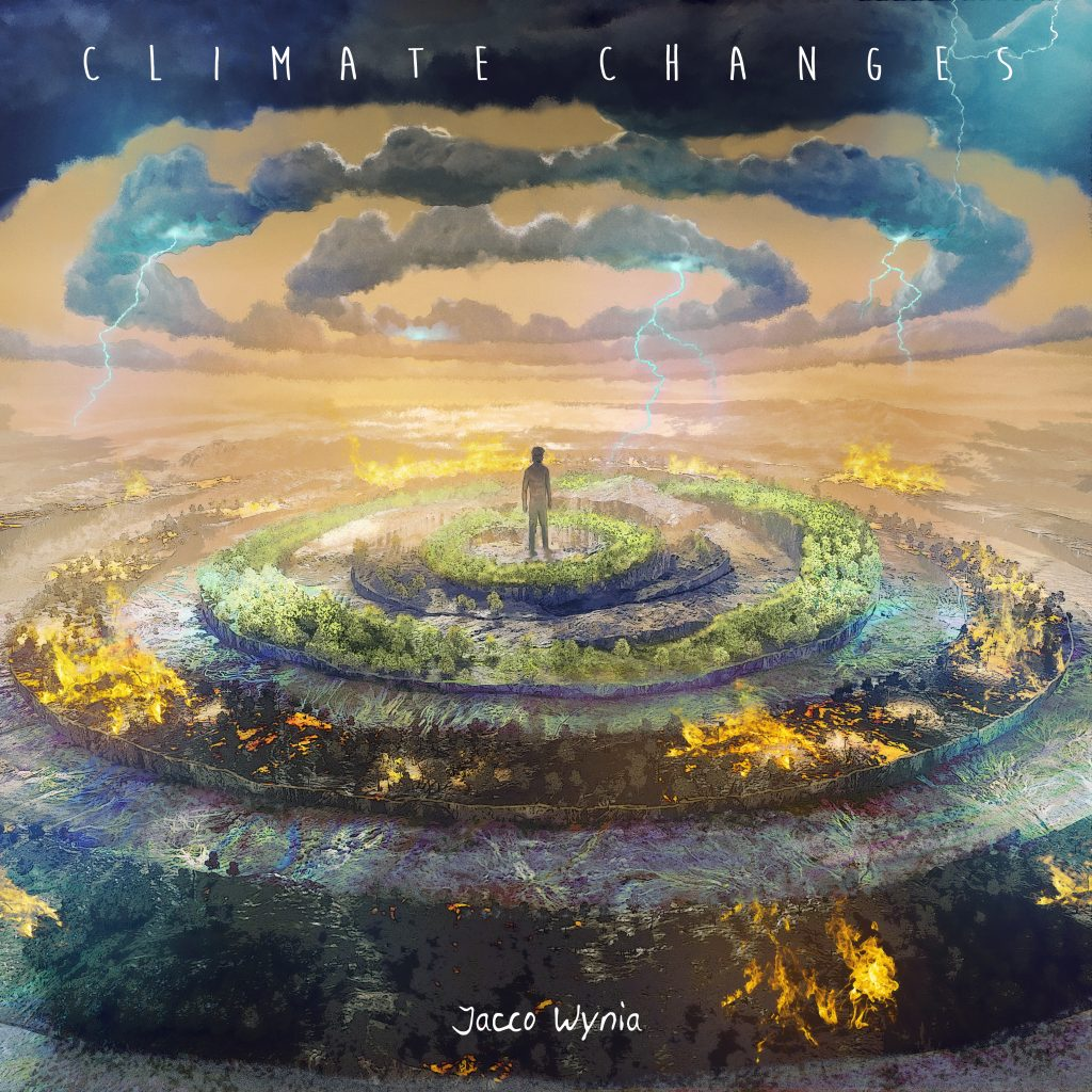 Jacco Wynia Album Cover - Climate Changes (Artwork by Bram Knol)