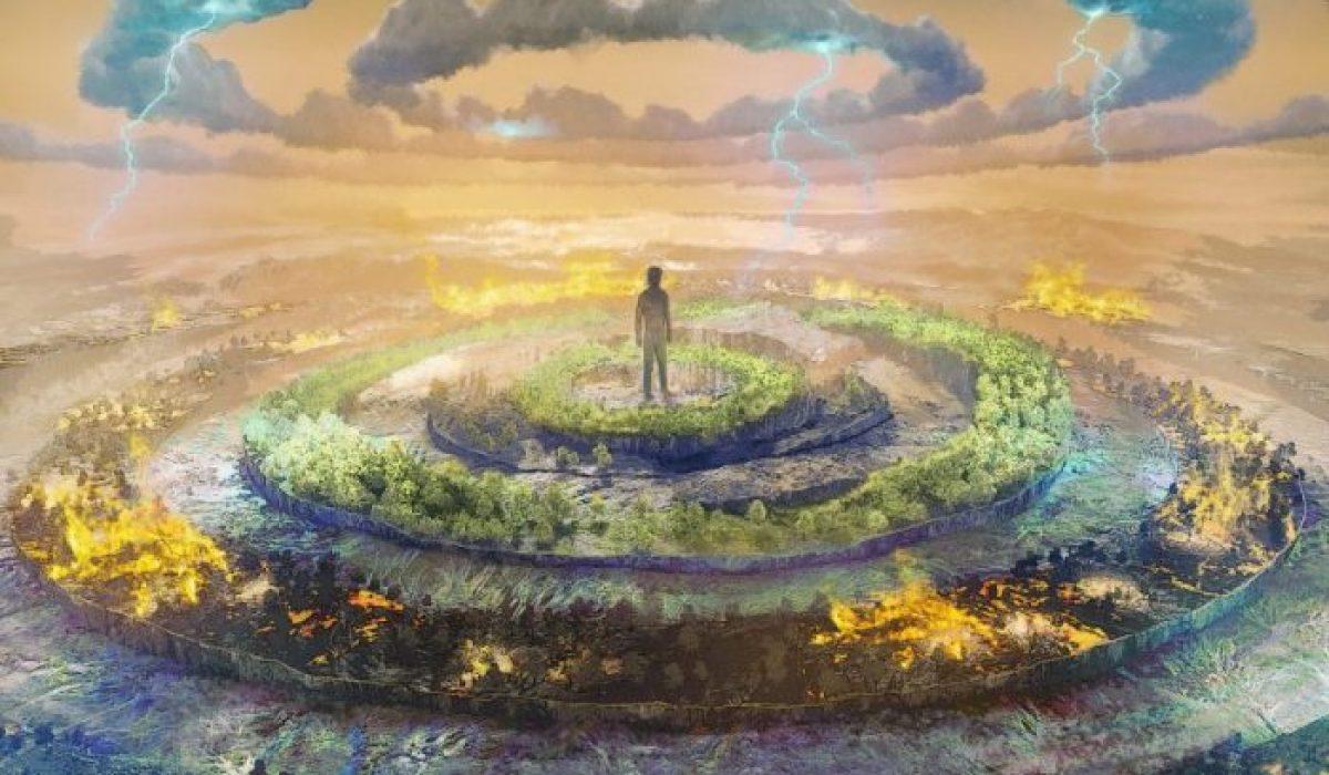 Jacco Wynia Album Cover - Climate Changes (Artwork by Bram Knol)
